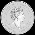 PM Lunar 3 Mouse 1oz silver 2020 BU $0.50 Australia