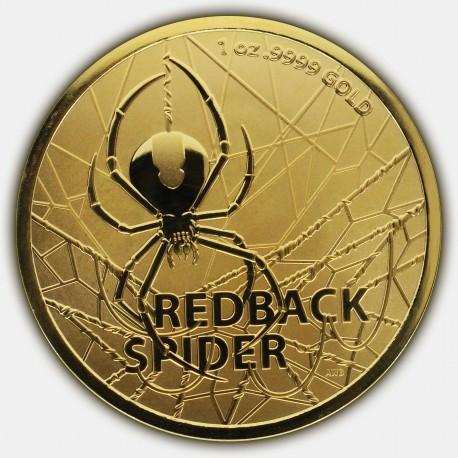 RAM 1 oz GOLD REDBACK SPIDER 2020 $100