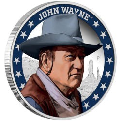Perth Mint John Wayne 2020 1oz Silver Proof Coin