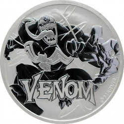 Perth Mint 1 oz silver 2020 MARVEL VENOM $1