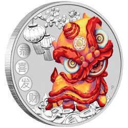 PM Chinese New Year 2020 1oz Silver Coin
