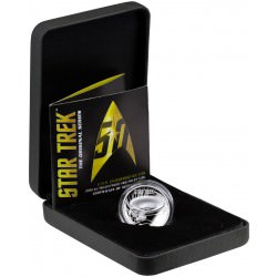 PM 1 oz silver STAR TREK 2016 HIGH RELIEF PROOF