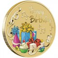 Happy Birthday 2020 Stamp and Coin Cover