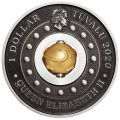 PERTH MINT Year of the Mouse Rotating Charm 2020 1oz Silver Antiqued Coin