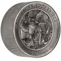 Australian Kangaroo 2019 2 Kilo Silver Antiqued High Relief Coin