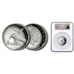 Australian Wedge-tailed Eagle 2018 1oz silver Proof High Relief Coin NGC69