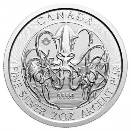 Canada 2 oz silver GOOSE 2020 $10