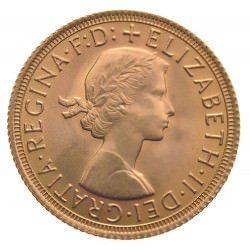 FULL GOLD SOVEREIGN 1963