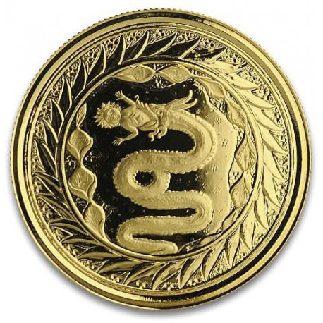 1 oz GOLD The Serpent of MILAN2020 20Tala