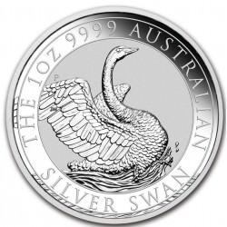 PM 1 oz silver SWAN 2020 $1