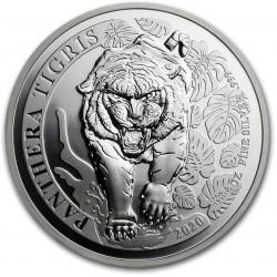 LAOS 1 oz silver TIGER 2020 Panthera Tigris 500 KIP