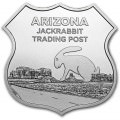 1 troy oz Silver - Icons of Route 66 DINOSAUR MUSEUM