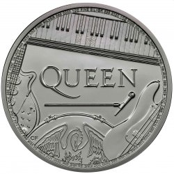 UK 1 oz silver QUEEN 2020 £2 Music legends