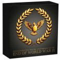 End of WWII 75th Anniversary 2020 1/4oz Gold Proof Coin