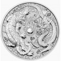 PM 10 oz silver DRAGON & TIGER 2020 BU $10