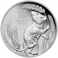 PM PLATINUM 1 oz Mouse 2020 $100 PROOF Australia