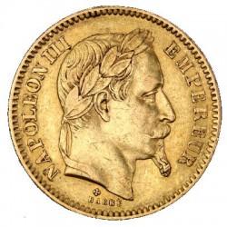 20 fr GOLD FRANCE GENIE OR