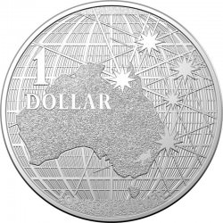 RAM 1 oz silver Beneath the Southern Skies 2020 $1