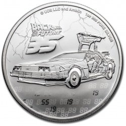 Niue 1 oz silver BACK TO THE FUTURE 35th Anniversary 2020