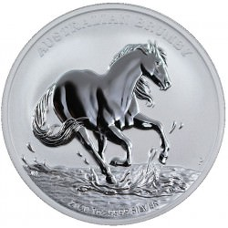 1 oz silver Australian BRUMBY HORSE 2020 $1 Pre-sale