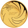 PM 007 JAMES BOND 2020 1/4oz GOLD PROOF COIN