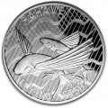 Tokelau 1 oz silver FLYING FISH 2020 $5