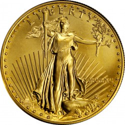 USA 1 oz GOLD Eagle 1990 bu $50