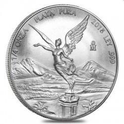 MEXICO 1/4 oz silver LIBERTAD 2018