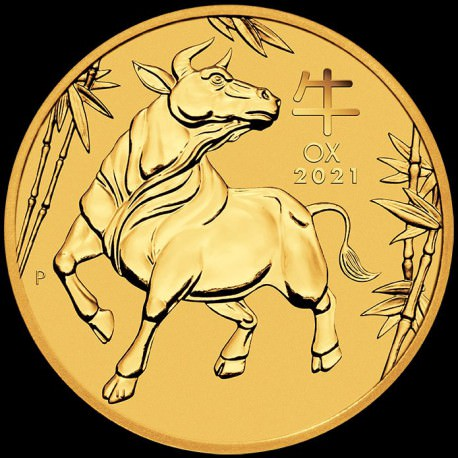 PM Lunar 3 Mouse 10 oz GOLD 2020 BU $1000 Australia