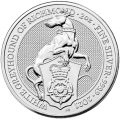 U.K. 2 oz silver QUEEN'S BEAST 2020 The WHITE HORSE OF HANOVER £5