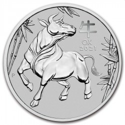 PM PLATINUM 1 oz OX 2021 $100 Australia