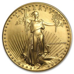 USA 1 oz AMERICAN GOLD EAGLE 1988 $50