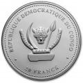CONGO 1 oz silver Predators CROTALUS 2020 RATTLESNAKE 20fr.