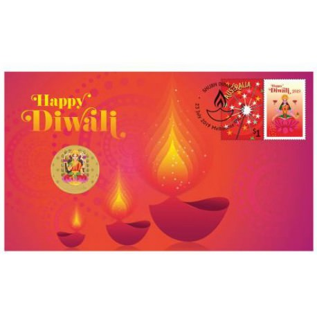 Diwali Festival 2017 Stamp and Coin Cover
