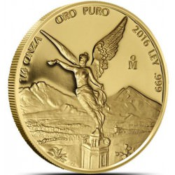 Mexico 1/4 oz gold LIBERTAD 2016 Proof