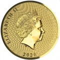 1/10 oz GOLD BOUNTY 2020 $10
