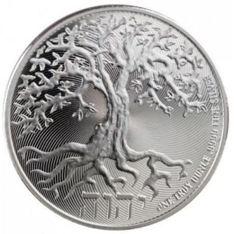 1 oz silver Niue Double Dragon 2018 $2