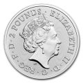 UK 1 oz silver DAVID BOWIE 2021 £2 Music legends
