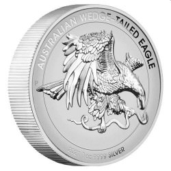 Australian Wedge-tailed Eagle 2021 1oz Silver Enhanced Reverse Proof High Relief Coin