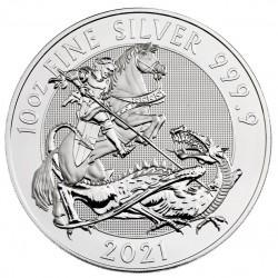 10 oz The 2018 Silver Valiant Silver Bullion Coin