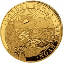 Armenia 1/2 oz gold NOAH's ARK 2021 Dram 25000