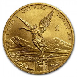Mexico 1 oz gold LIBERTAD 2020