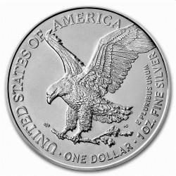 1 oz silver U.S. Silver EAGLE 2021 $1 TYPE 2