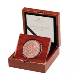 The Five-Sovereign Piece 2021 Gold Brilliant Uncirculated Coin