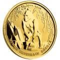 CONGO 1 oz GOLD GORILLA 2021