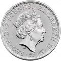 UK 1 oz silver BRITANNIA 2022 £1