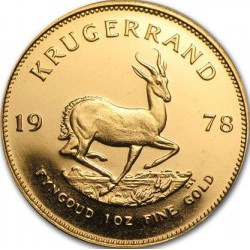 1 oz gold KRUGERRAND 1978