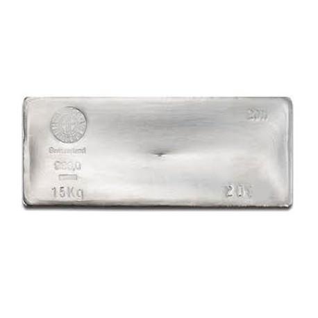 15 Kilo silver BAR