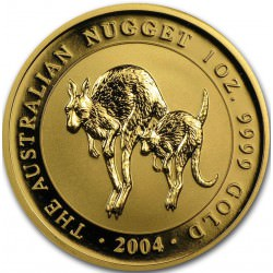 1 oz gold NUGGET 2004