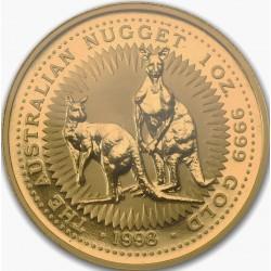 1 oz gold NUGGET 1998